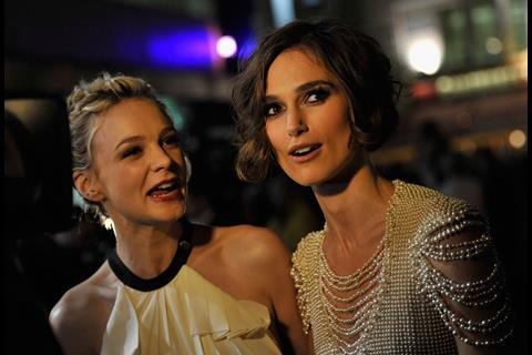 Carey Mulligan and Keira Knightley on the red carpet